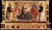 Madonna and Child with Sts John the Baptist, Peter, Jerome, and Paul dsgh GOZZOLI, Benozzo